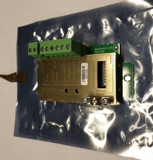 MAS2600-2P Amplifier Board MAS2600, 4-20 mA. programable